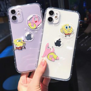 Funny SpongeBob iPhone 11 Case - FinishifyStore