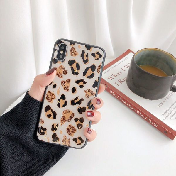 bling leopard iPhone X Case - FinishifyStore