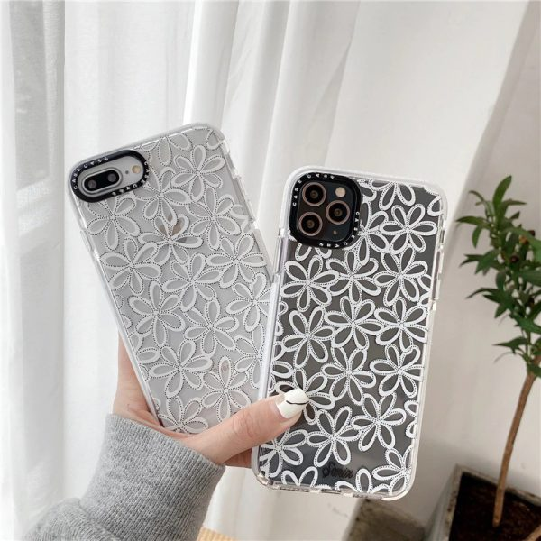 Lace flower Shockproof iPhone 11 Case - FinishifyStore