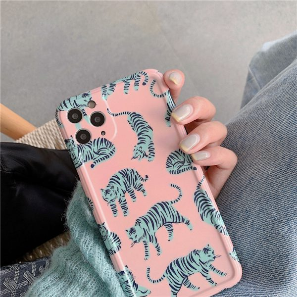 Tiger Pattern iPhone 11 Pro Max Case - FinishifyStore