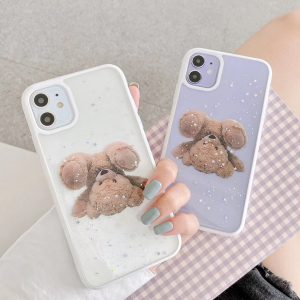 Bear Shockproof iPhone Case - FinishifyStore