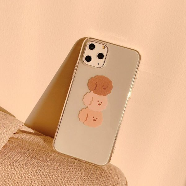 Cute Brown Poodle Clear iPhone Case 11 Pro Max - FinishifyStore