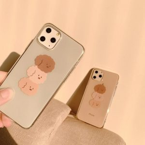 Cute Brown Poodle iPhone 11 Pro Max Case - FinishifyStore