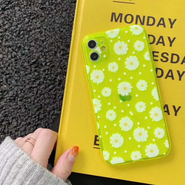 Daisy Fluorescent iPhone 11 Case - FinishifyStore