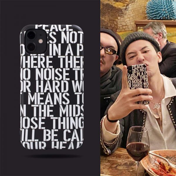 G-Dragon Quotes iPhone 11 Pro Case - FinishifyStore