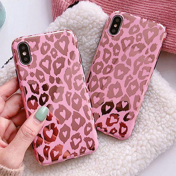 Glossy Leopard spot iPhone Case - FinishifyStore