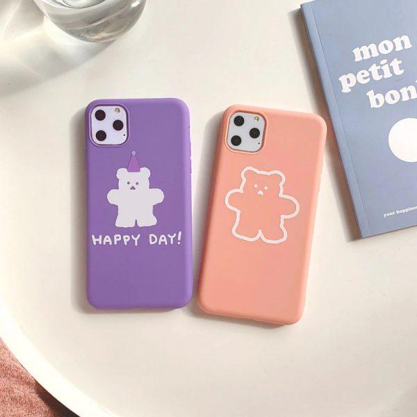 Cartoon Bears Design iPhone 11 Pro Max Case - FinishifyStore