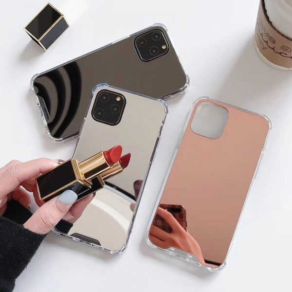 Mirror Silver Rose Gold iPhone 11 Pro Max Case - FinishifyStore