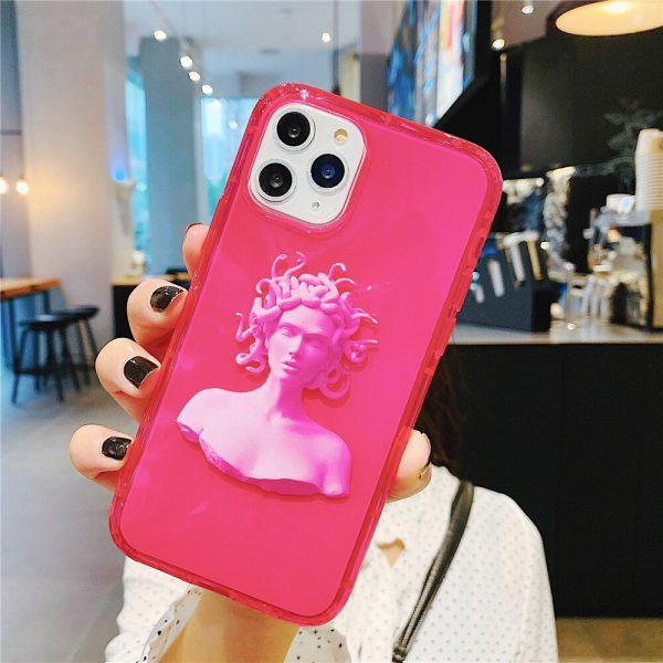 Neon Statue Pink iPhone - FinishifyStore 11 Pro max Case