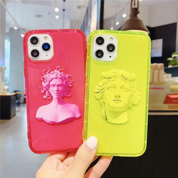 Neon Statue iPhone 11 Pro Max Case - FinishifyStore