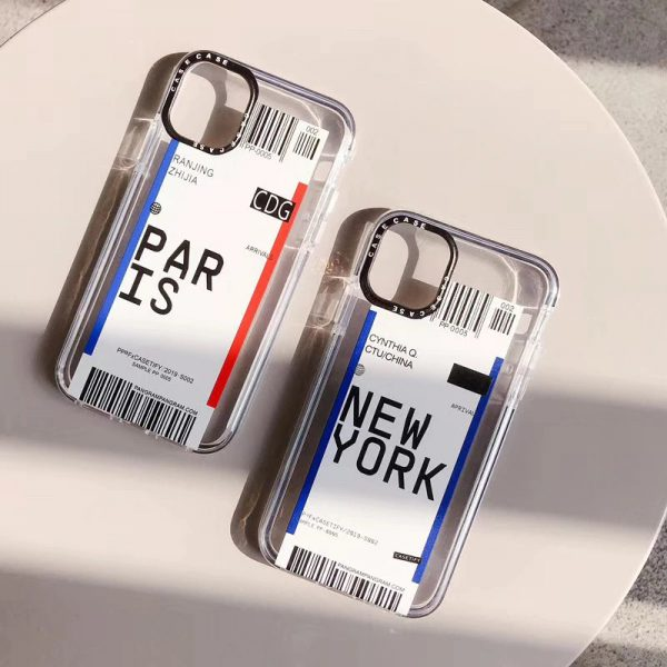 New York City Travel Label iPhone Case - FinishifyStore