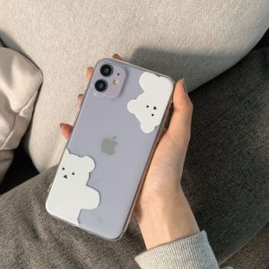White Bears iPhone Case - FinishifyStore