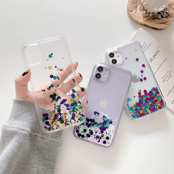 Colorful Sequins iPhone 12 Case - FinishifyStore