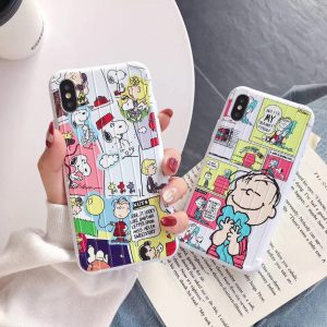 Peanuts Comic Design iPhone Case - FinishifyStore