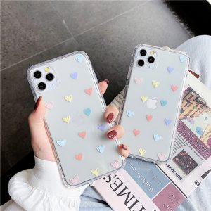 Colorful Hearts iPhone 12 Case - FinishifyStore