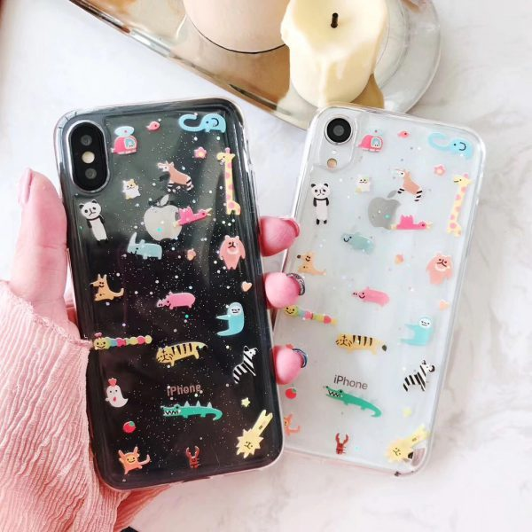 Cute Zoo Design iPhone Xr Case - FInishifyStore