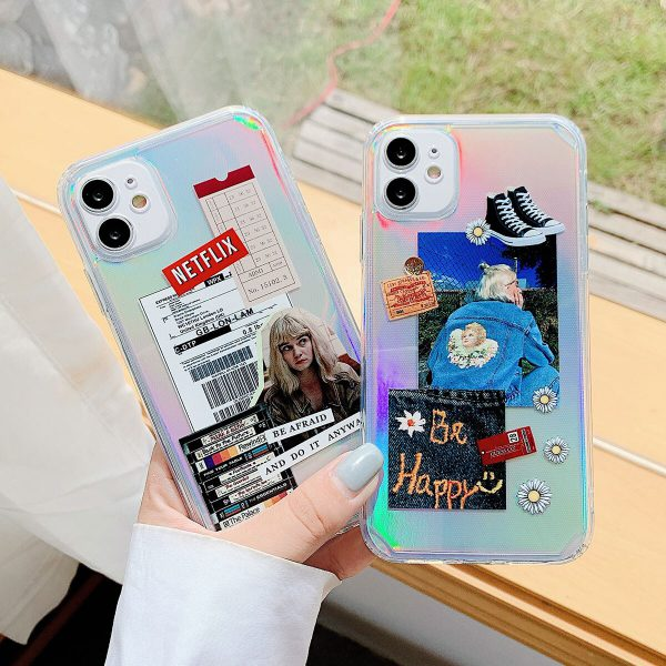 Holographic Fashion iPhone Case - FinishifyStore