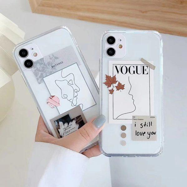 Fashion Magazine Label iPhone Case - FinishifyStore