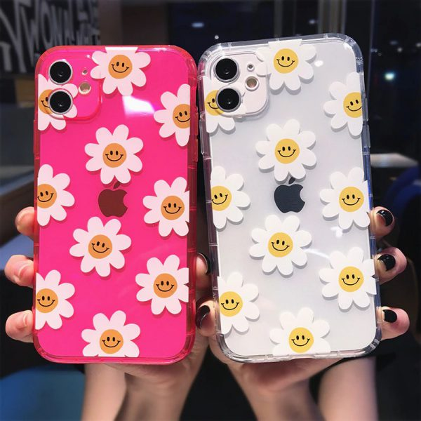 Neon Daisy iPhone 11 Case - FinishifyStore