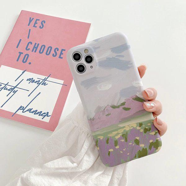 Painting Landscape iPhone Case - FinishifyStore