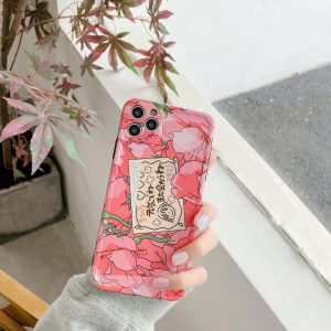 Pink Rose Art iPhone Case - FinishifyStore
