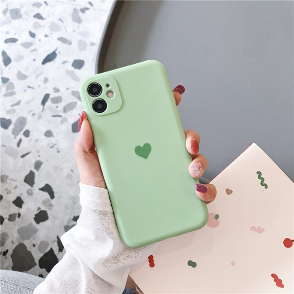 Protection Heart Green iPhone Case - FinishifyStore