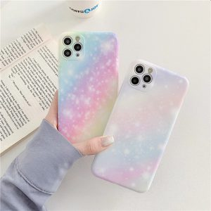 Rainbow Marble iPhone 11 Pro Max Case - FinishifyStore