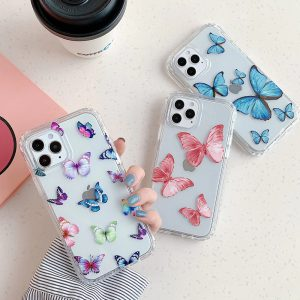 Butterfly Clear iPhone Case - FinishifyStore
