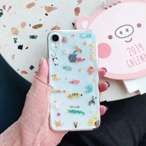 Cute Zoo Design iPhone Case - FinishifyStore