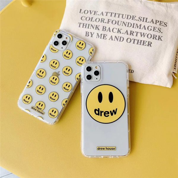 Drew House Clear iPhone Case - FinishifyStore
