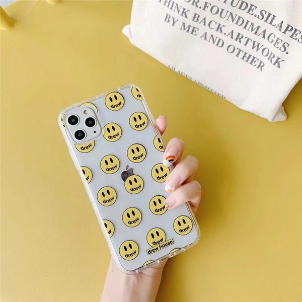 Drew House Clear iPhone 11 Pro Max Case - FinishifyStore