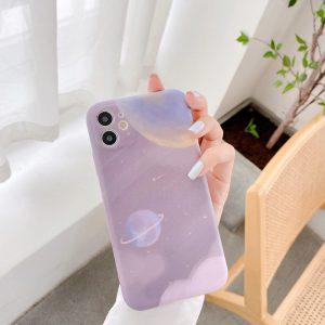Purple Planet iPhone Case - finishifystore