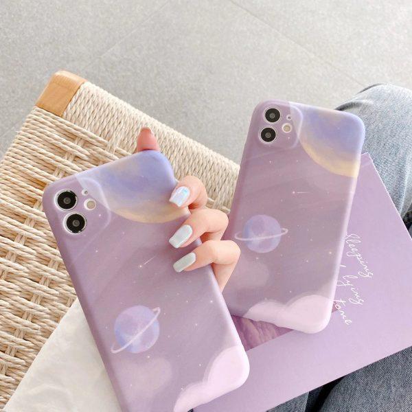 Purple Planet iPhone 11 pro max Case - finishifystore