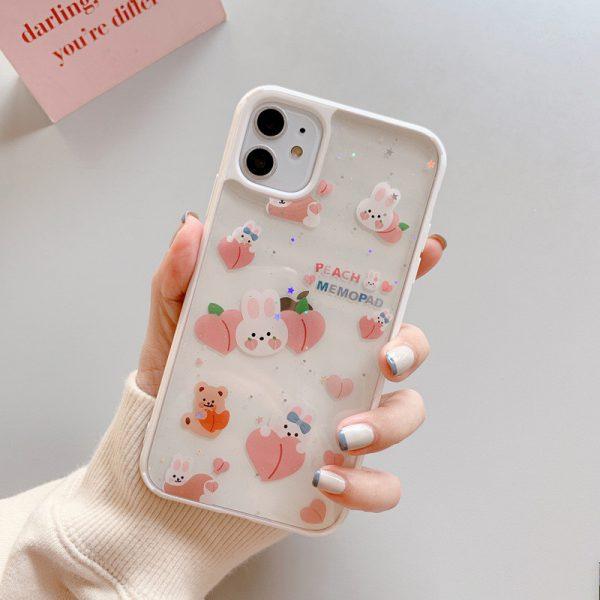 Bling Rabbit Shockproof iPhone 12 Case