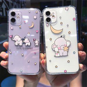 Cartoon Elephant iPhone 11 Case