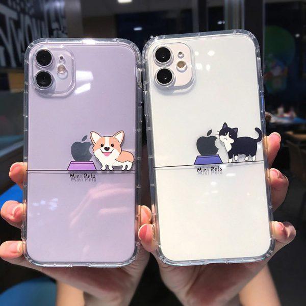 Cartoon Pets iPhone Case 12 Pro Max