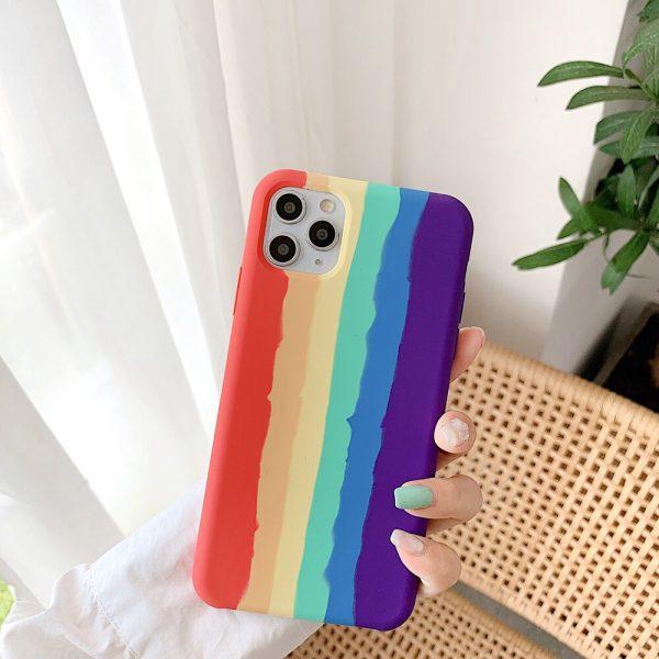 Colorful Silicone iPhone 11 Pro Max Case