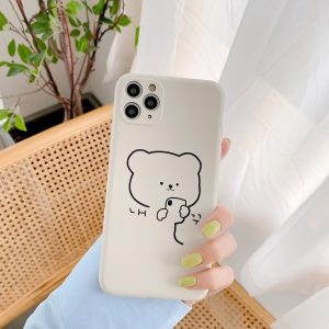 Cute Protective Bear iPhone 11 Pro Max Case