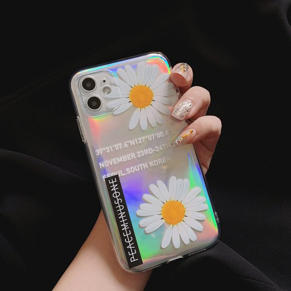 Holographic Daisy iPhone 11 Case