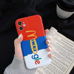 Famous Brand Logo Design iPhone Case