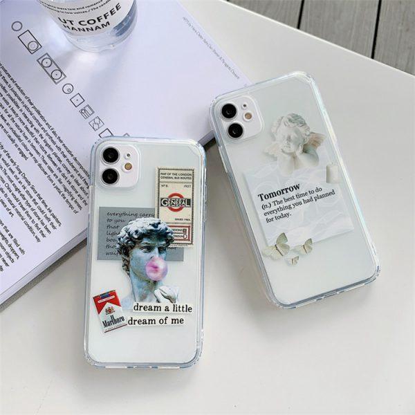 Fashion Statue iPhone 12 Pro Case