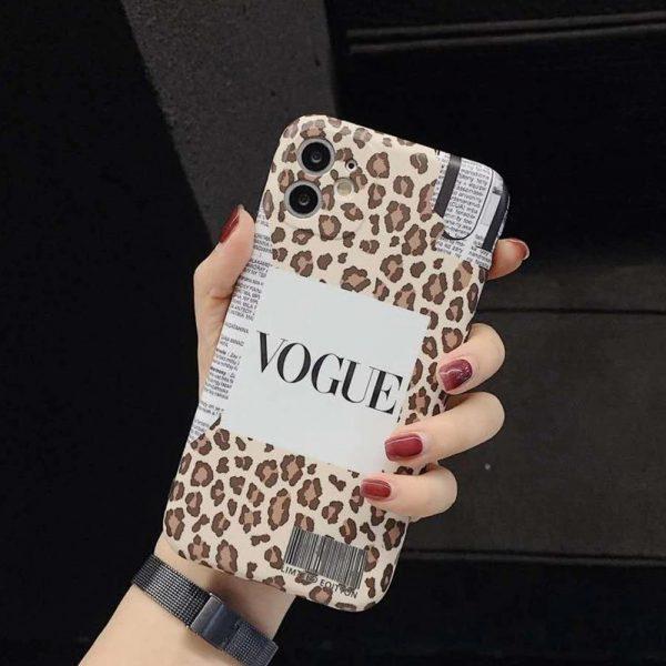 Fashion Vogue iPhone 12 Case