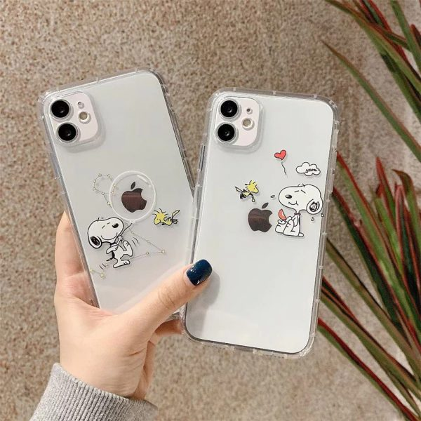 Funny Snoopy iPhone 12 Case