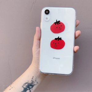 Funny Tomatoes iPhone 12 Case