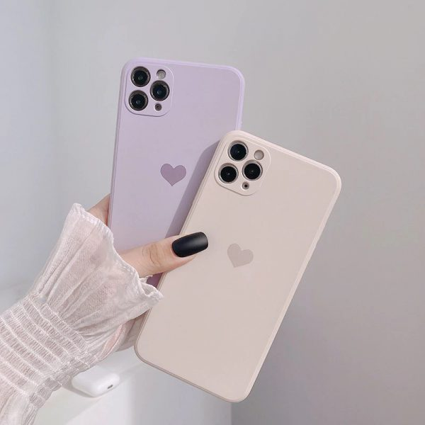 Matte Heart iPhone Case 12 Pro Max
