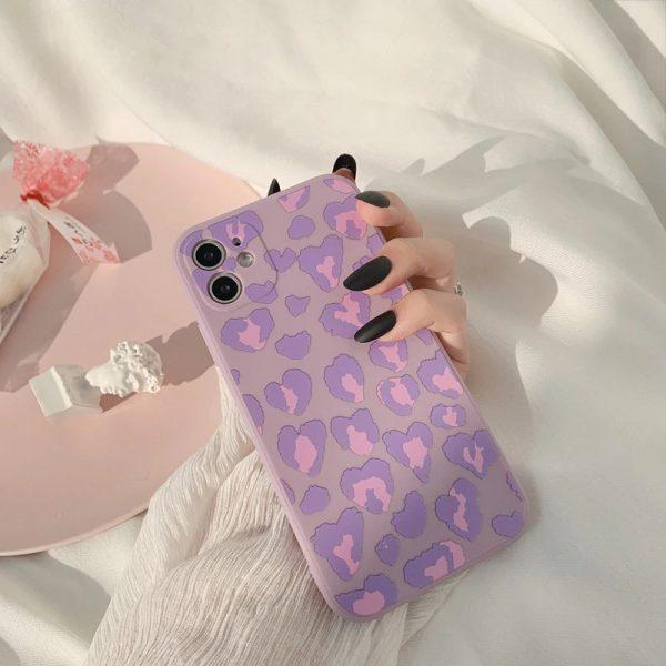 Matte Purple iPhone 12 Case