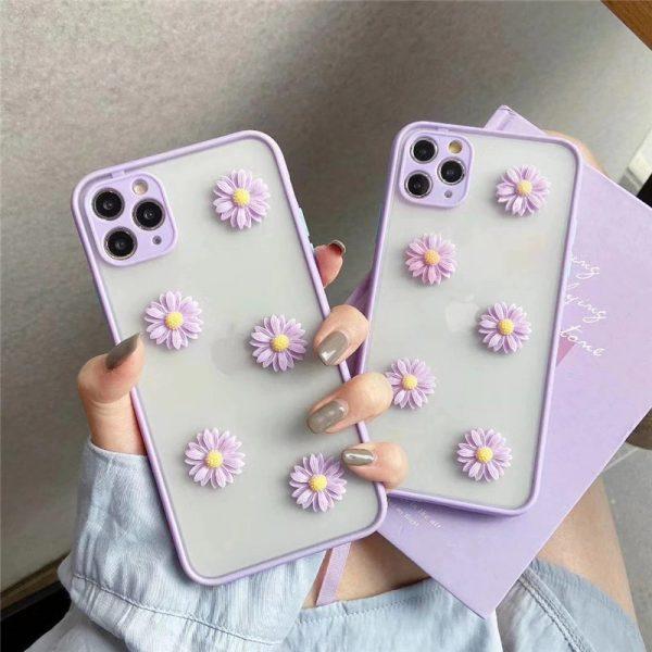 Purple Daisy iPhone 11 Pro Max Case