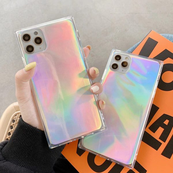 Square Holographic iPhone 12 Pro Max Case