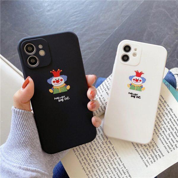 Cartoon Joker Protective iPhone Case
