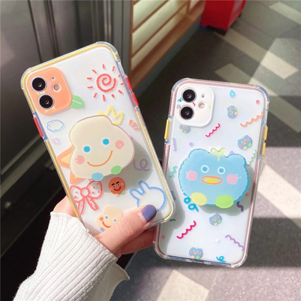 Cartoon Protective iPhone 12 Case